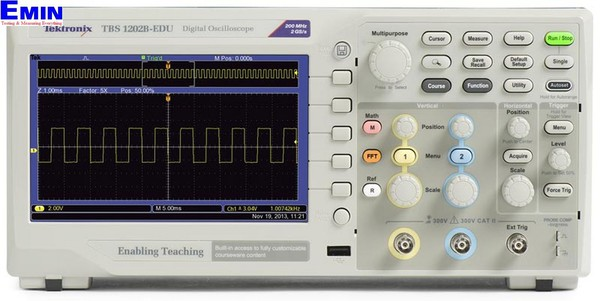 Tektronix TBS1102B-EDU Digital Oscilloscopes (100Mhz, 2CH, 2GS/s)
